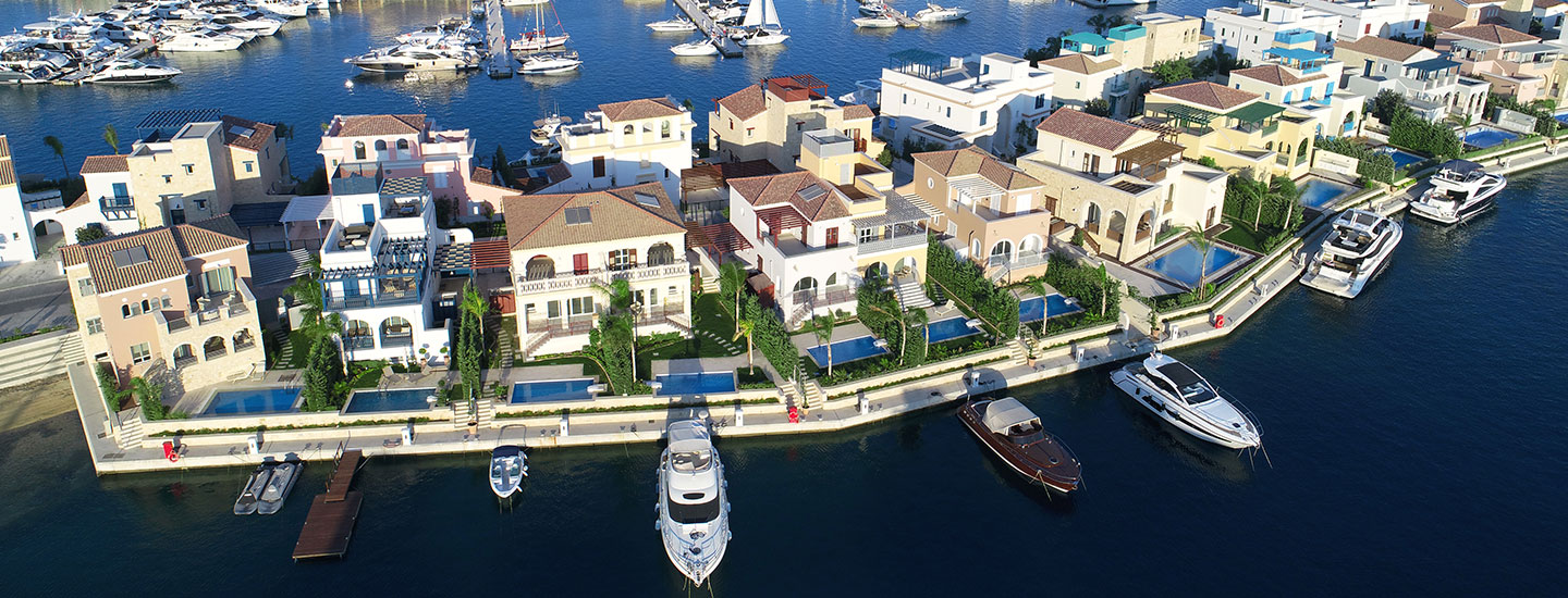 Luxury Villas with berth in Cyprus