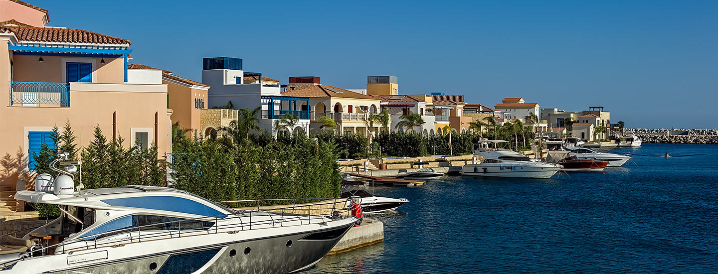 Limassol Villas with berths